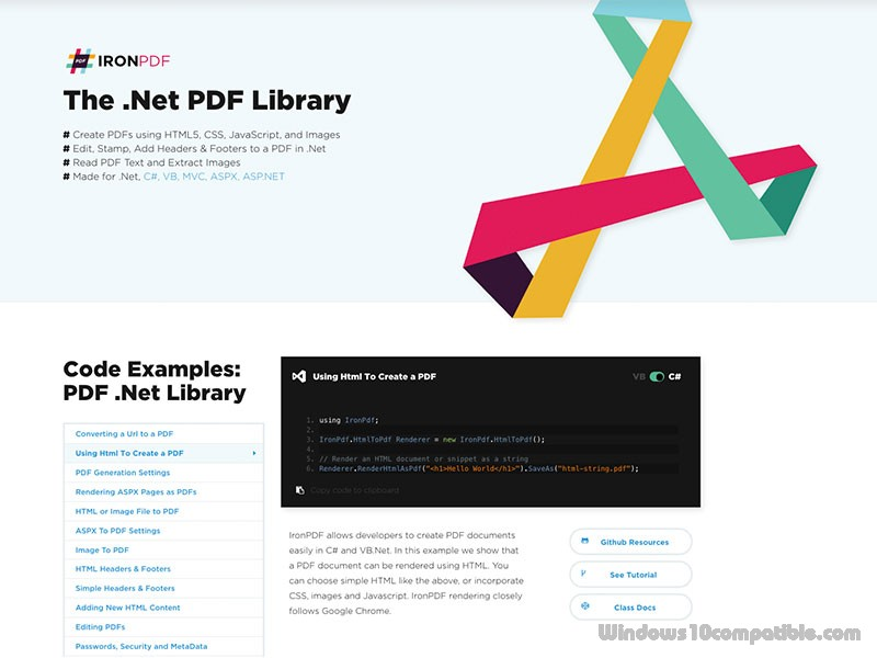The Net Pdf Library 2019 8 9 Free Download